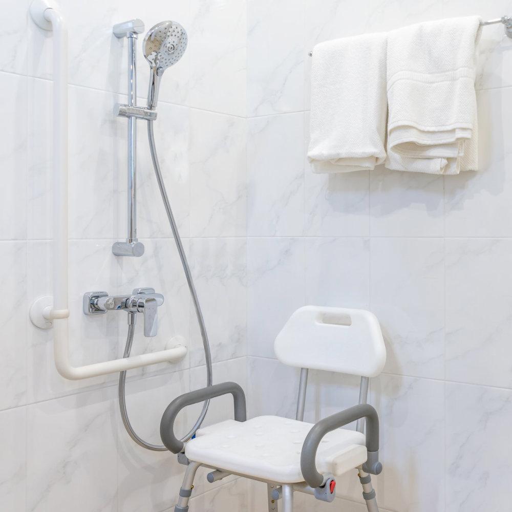 bathroom handrail